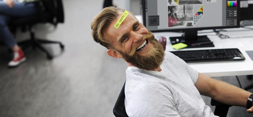 Be happy man