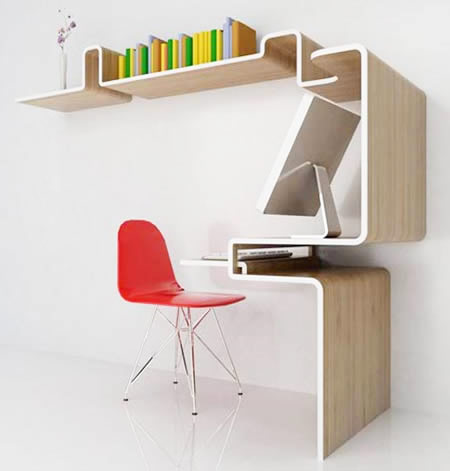 plaatsbesparend bureau
