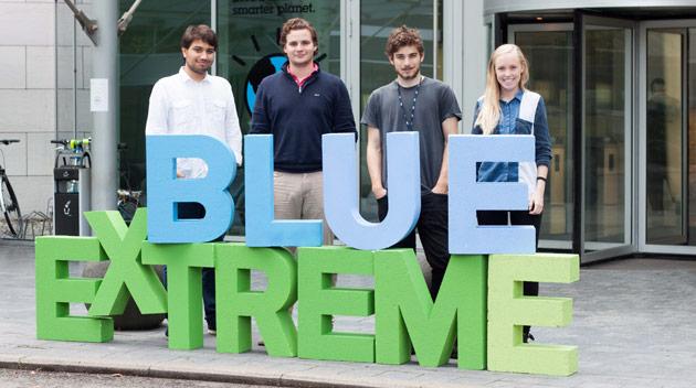 Extreme Blue team