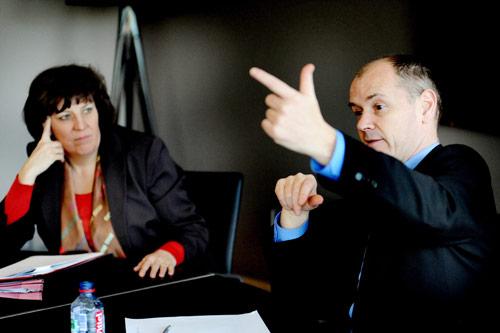 Ingrid Lieten en Peter Quaghebeur