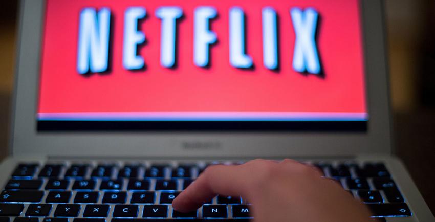 Netflix kijken op kantoor