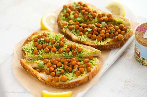 Toast met avocado
