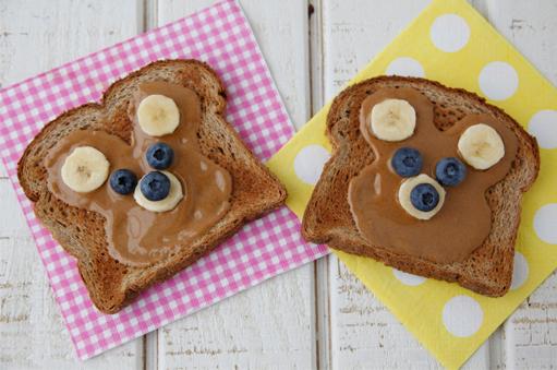 Pindakaas met zaadjes voor kinderen