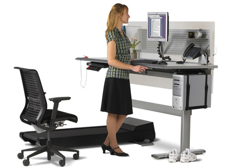 Rechtsta desk Sit-to-Walkstation