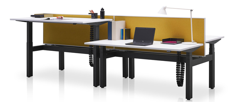 Rechtsta desk Herman Miller Ratio