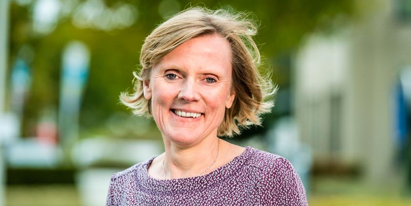 Sabine Schellens, directeur HR bij Aquafin
