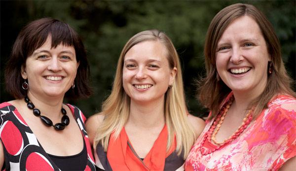 Nancy De Vogelaere, Joke Renneboog en Elke Wambacq