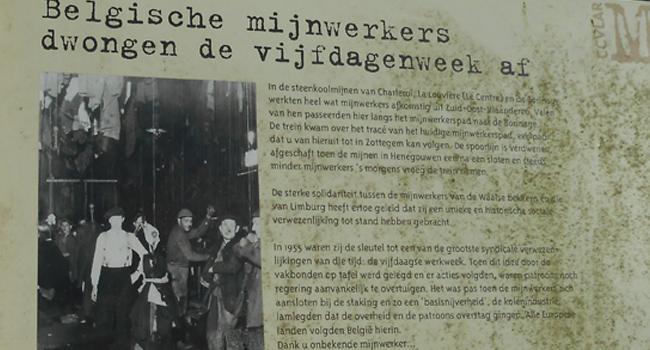 Belgische mijnwerkers dwongen vijfdagenweek af
