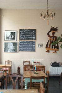 Lunch bij Faja Lobi in Gent