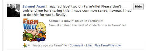 farmville update