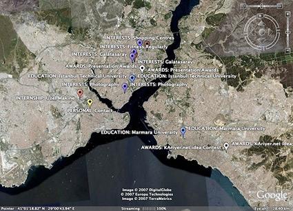 Google Earth cv