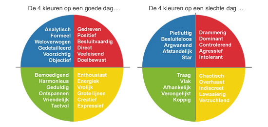 """Het Insights Discovery Wheel"