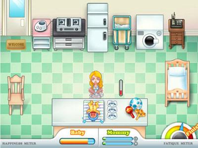 Speel de Mommy Challenge game