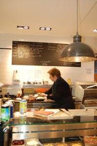 lunchen bij Viva M'Boma in Brussel