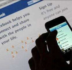 facebook iPhone mobiel