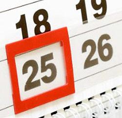 d16df3aacde Les 10 jours de congé officiels 2013 - Jobat.be