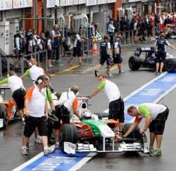 Paddock, Spa-Francorchamps