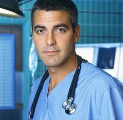 George Clooney, oftewel dokter Douglas Ross uit 'E.R.'