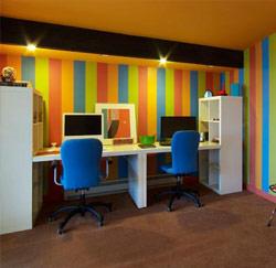 Kleuradvies voor een gezonde werkplek - Moderne kantoorbureaus ...