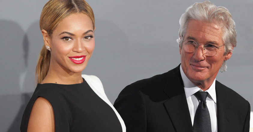 Beyoncé vs. Richard Gere