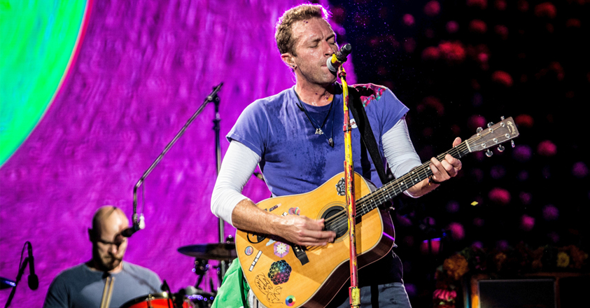 Chris Martin van Coldplay