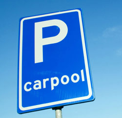 carpool parking