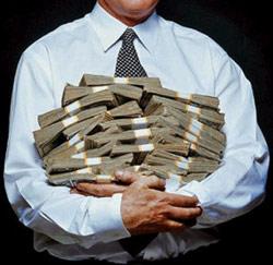 rijke mensen die geld weggeven