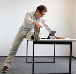 Bewegen tijdens zittend werk