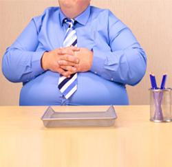 1 op de 2 werknemers is te dik