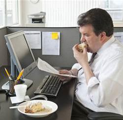 Overwerken maakt je dikker