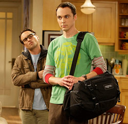 sheldon en leonard, big bang theory