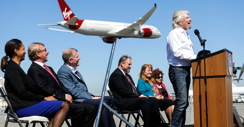 Richard Branson, CEO Virgin Group